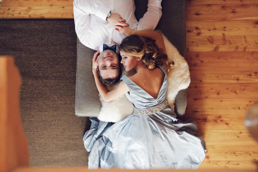 nowożeńcy miłość